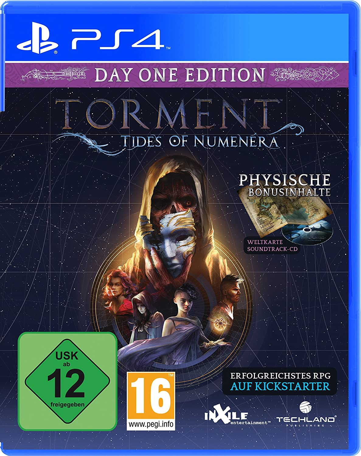 Torment: Tides of Numenera - Day One Edition [PlayStation 4]