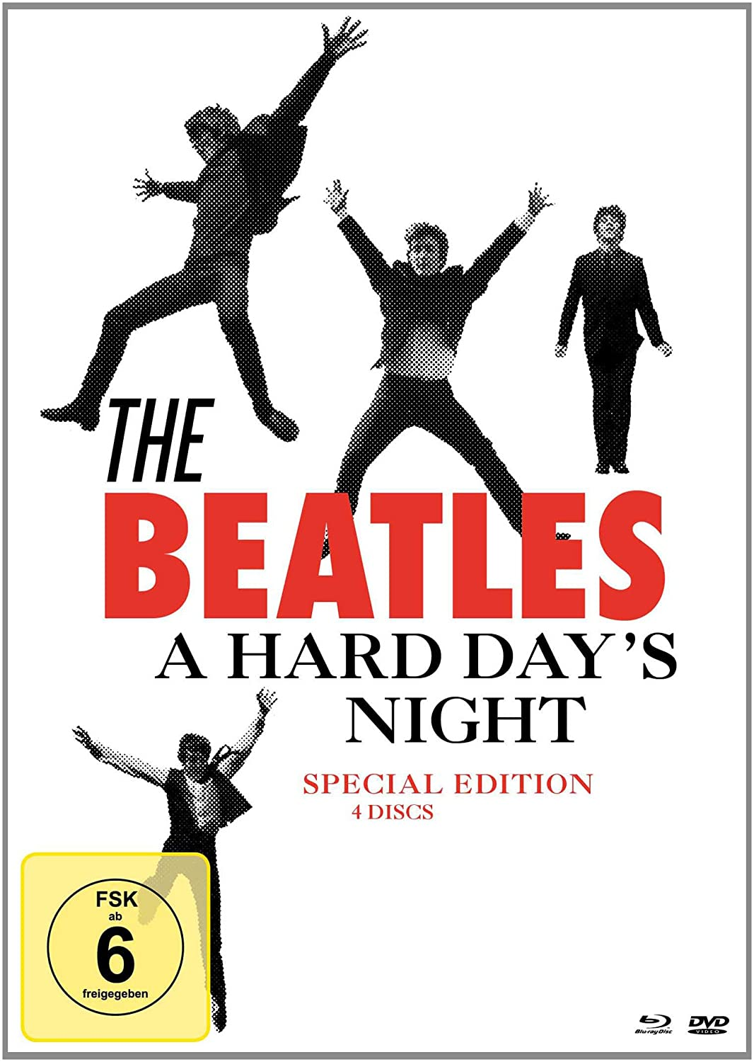 The Beatles - A Hard Day's Night - 4 Disc Special Edition