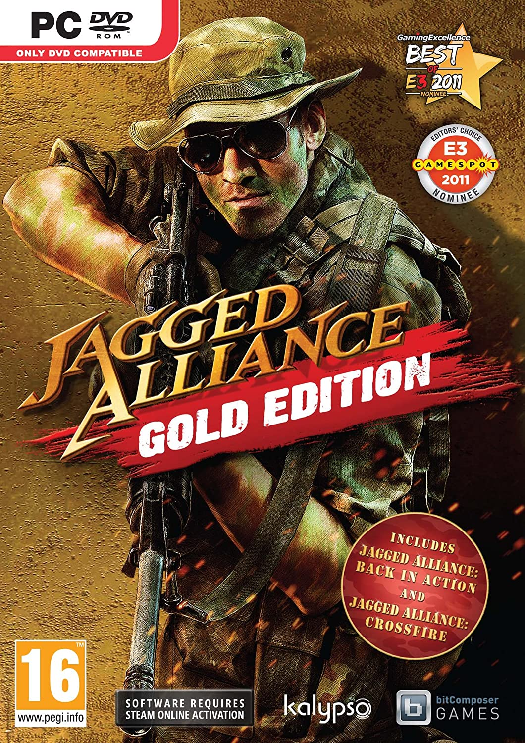 Jagged Alliance Gold Edition Game PC [PC]