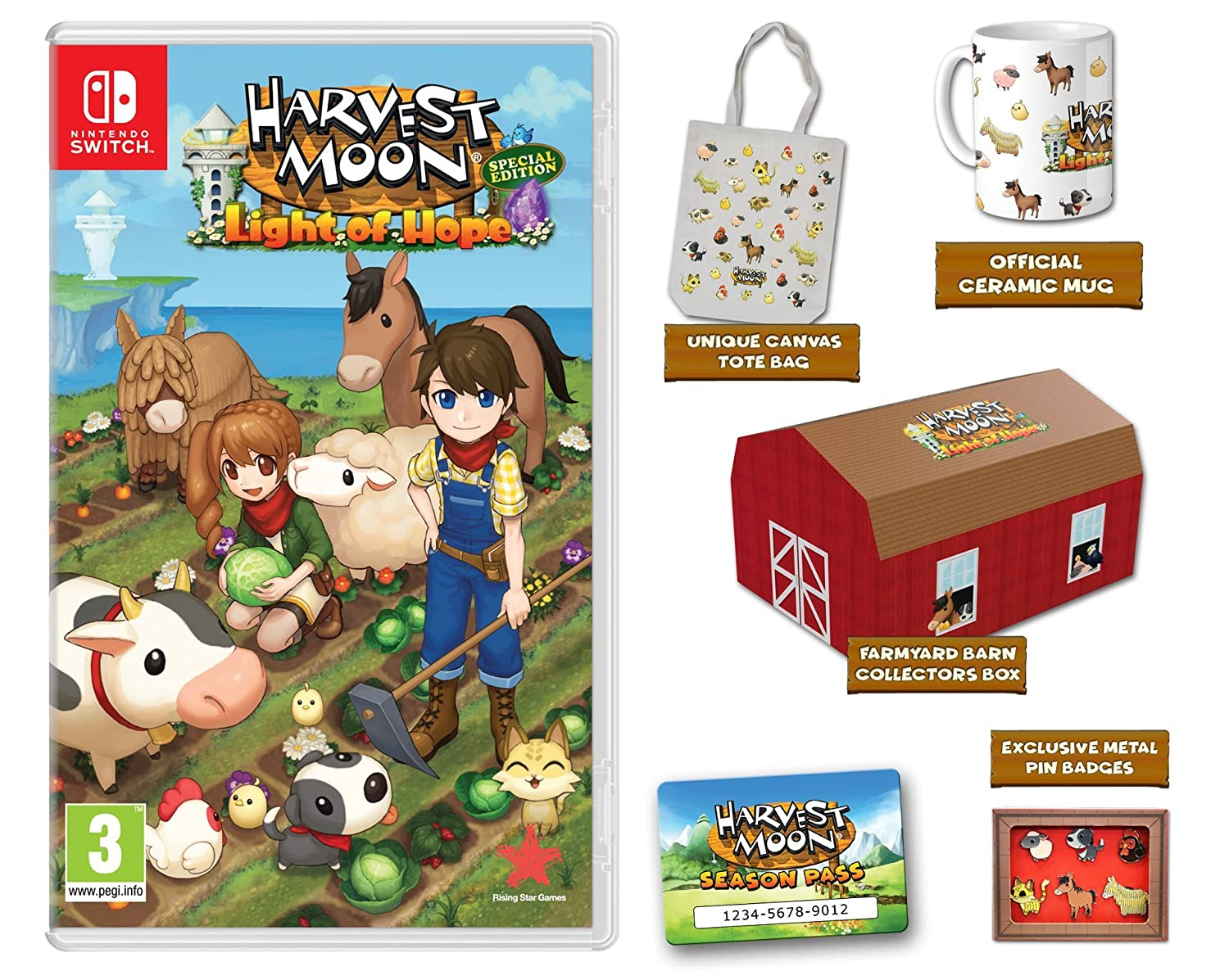 Harvest Moon - Light of Hope Collector's Edition [Nintendo Switch]
