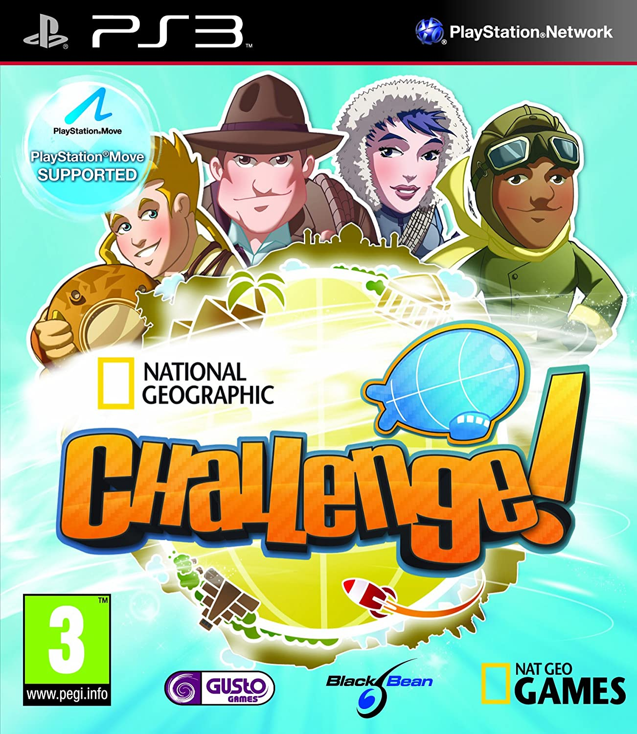 National Geographic Challenge! [PlayStation 3]