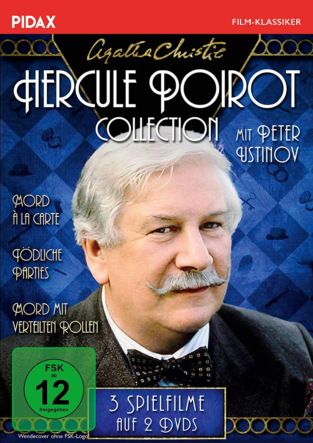 Agatha Christie: Hercule Poirot-Collection, Peter Ustinov