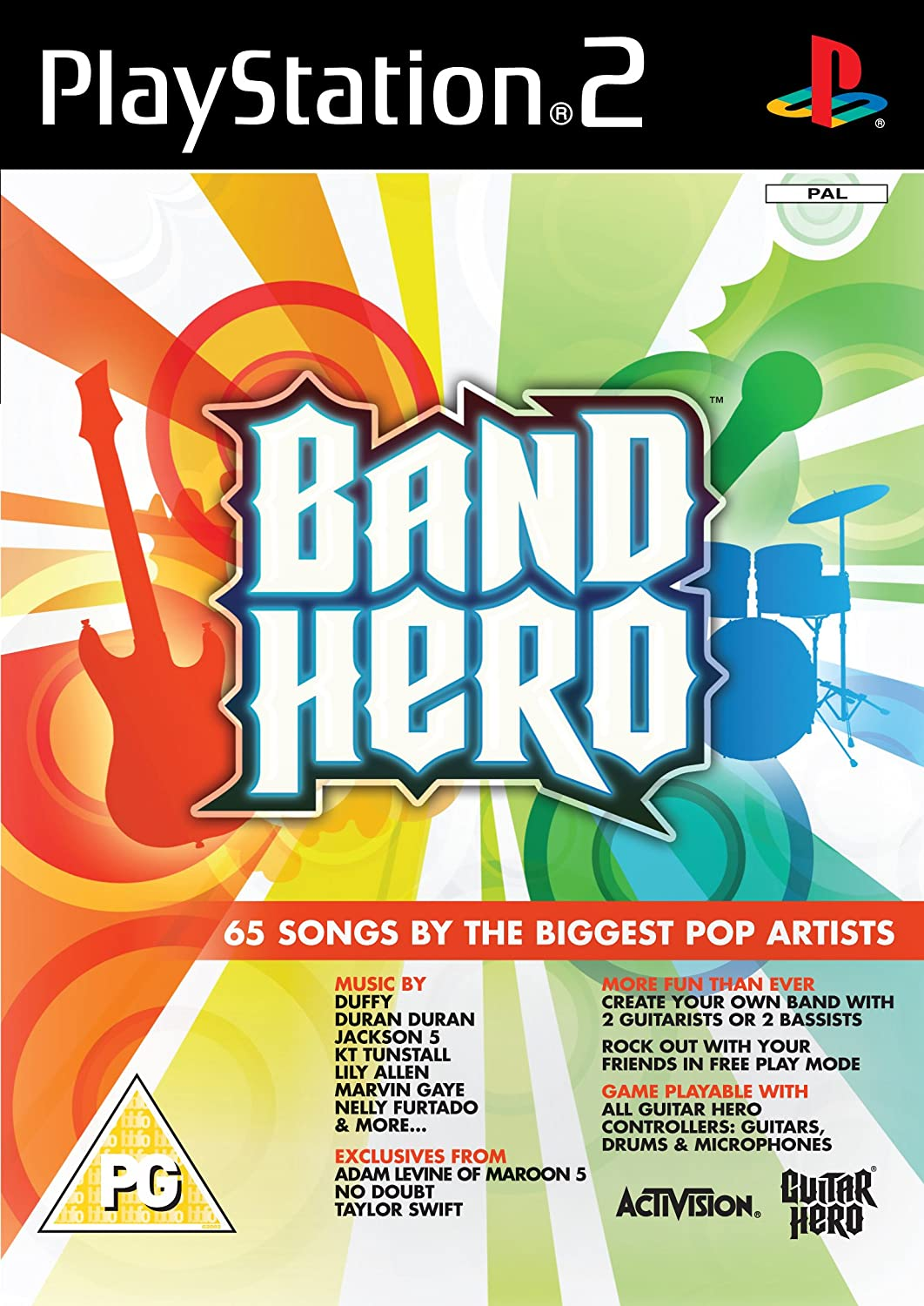 Band Hero - Game Only [PlayStation 2]