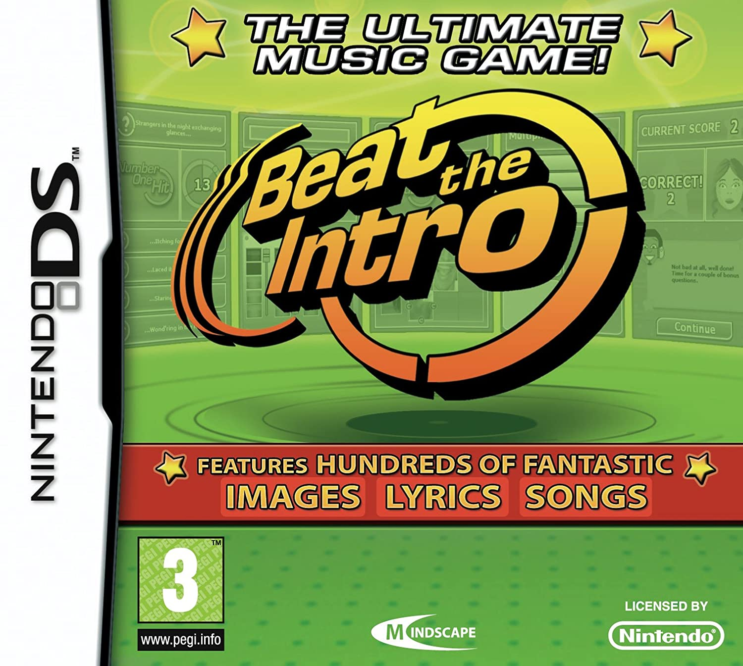 Beat The Intro - The ultimate music game [Nintendo DS]